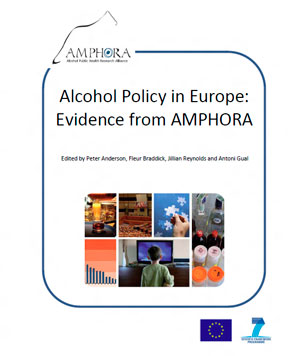 Alcohol Policy in Europe: Evidence from AMPHORA