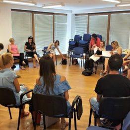 Delovno srečanje na temo Programa krepitve družin v Kopru